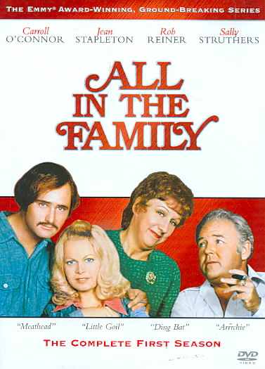 ALL IN THE FAMILY:COMPLETE 1ST SEASON BY ALL IN THE FAMILY (DVD)